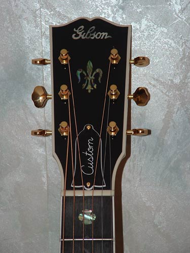 Nick Lucas Elite - Headstock