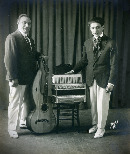 John Bergamasco and Frank Lucanese 1920 - Photo courtesy of Richard Harris