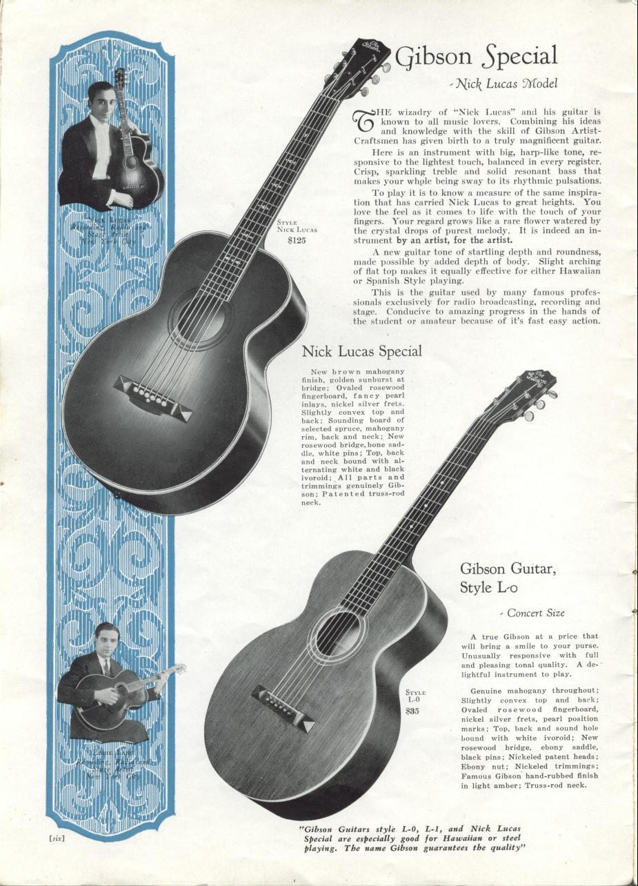 Nick Lucas Special - 1928