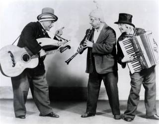 The Three Vagrants - 1928 - Josephine Bergamasco on Accordion - Photo courtesy of Richard Harris