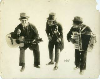 The Three Vagrants - 1912 - Photo courtesy of Richard Harris